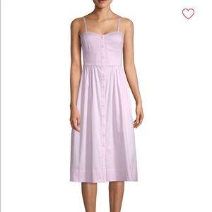 Rebecca Taylor Stretch Cotton Tank Dress